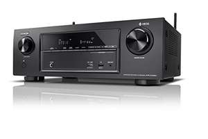 Amplificateur Home Cinema 7.2 Denon AVR-X1400h - UHD 4K, HDR, Wi-Fi, Bluetooth, Multiroom