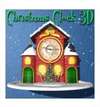 Christmas Animated Clock 3D gratuit (au lieu de 1.09€)