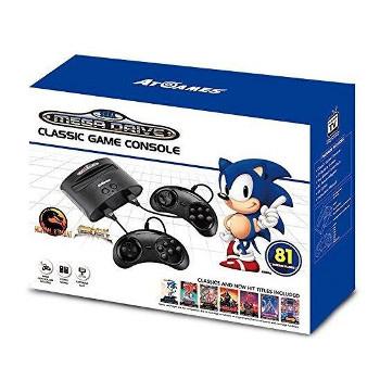 Console Sega Mega Drive 81 jeux - Edition 2017