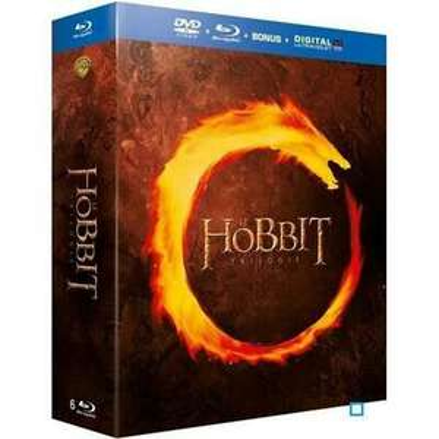 Coffret Blu-ray Le Hobbit - La trilogie [Combo Blu-ray + Blu-ray bonus + DVD + Copie digitale]
