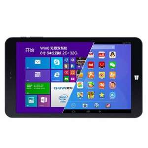 Tablette Chuwi Vi8 : Dual Boot Android + Windows 8.1 x86 - 2 Go Ram - 32Go