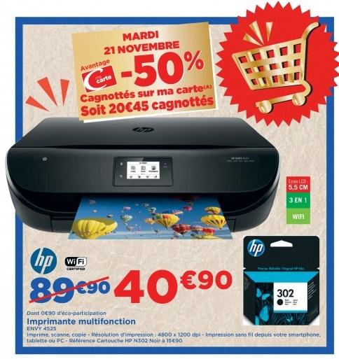 Sélection d'articles en promotion via fidélité - Ex. Imprimante HP Envy 4525 (via  20,45€ fidélité)