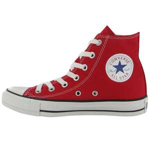 Chaussures Converse All Star Rouge (pointures 36 à 42)