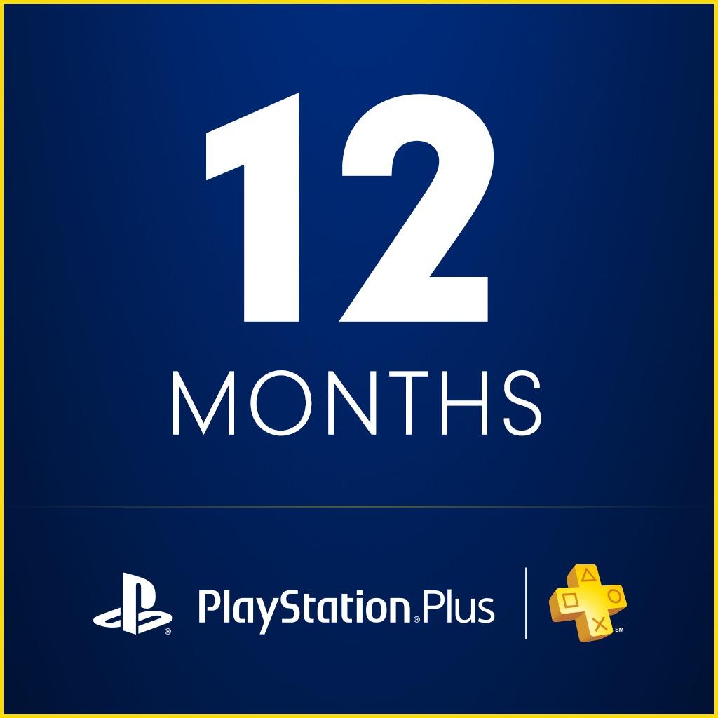 Abonnement de 12 mois au Playstation Plus (Canada)