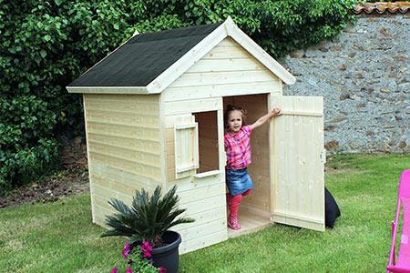 Maison Enfant Cabane en bois Soulet Igor (1,45 x 1,30 x 1,45 m)