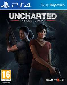 [Carte Fidélité] Uncharted: The Lost Legacy sur PS4