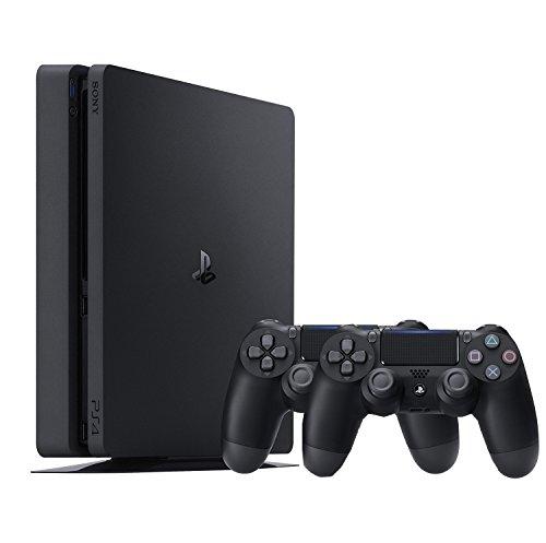 Pack Console PS4 (Noir) - 500 Go + 2ème Manette