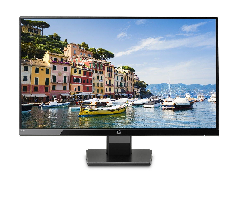 """Ecran PC 24"""" HP 24W - IPS, Full HD, Noir"""
