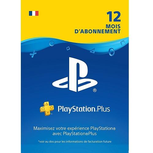 Abonnement 12 mois au PlayStation Plus