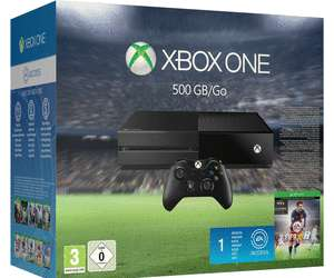 Pack console Microsoft Xbox One (500 Go) + FIFA 16+ 1 mois EA Access