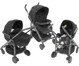 Poussette travel system Chicco Trio Love - gris