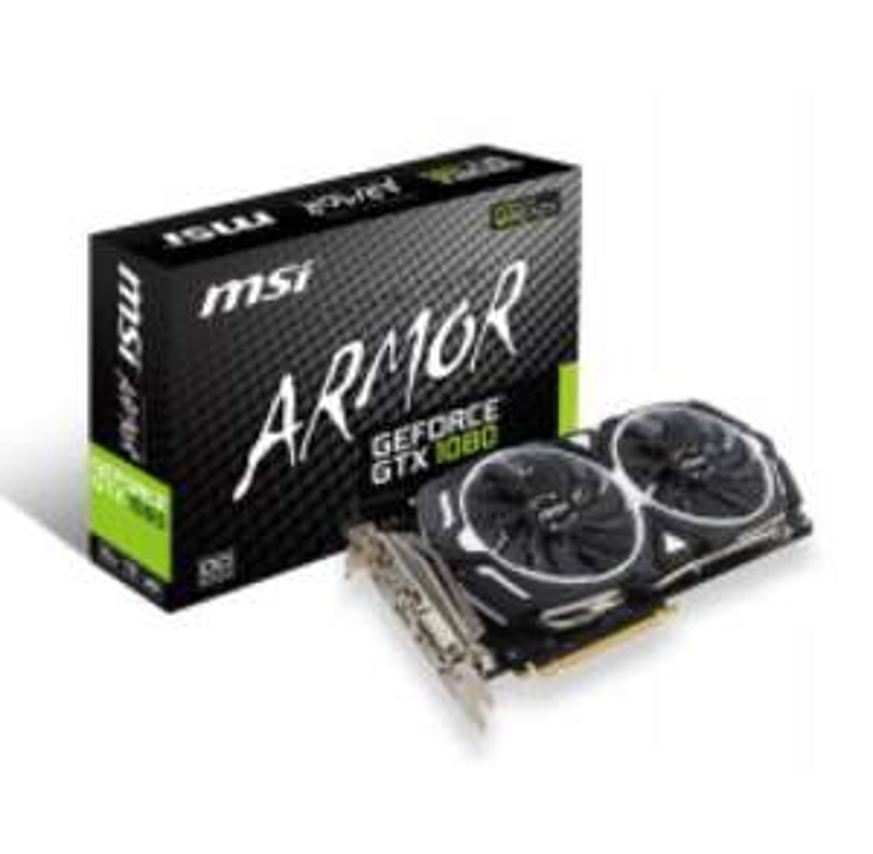 Carte graphique MSI V336-004R GeForce GTX 1080 PCI Express x16 3.0