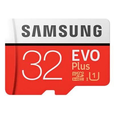 Carte microSDXC Samsung EVO Plus U1 - 32 Go