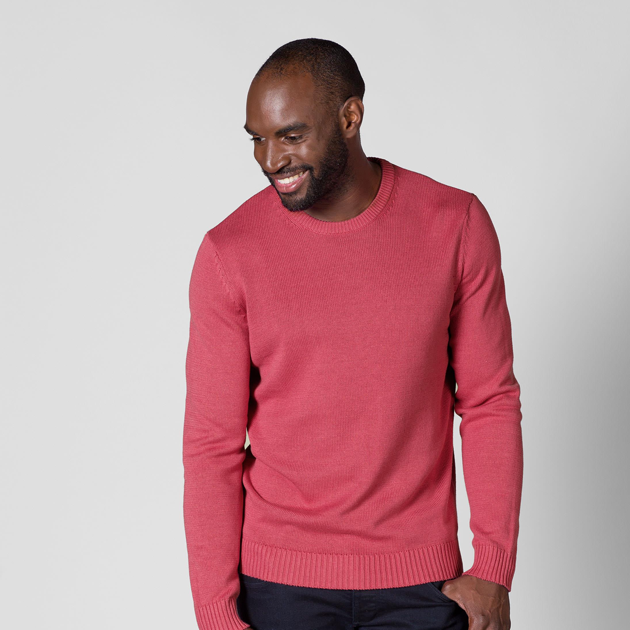 Lot de deux pulls homme WoolOvers - 100% coton (taille au choix)