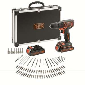 Black & Decker - Coffret perceuse visseuse 18 V