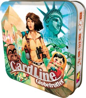Jeu de société Asmodee Cardline - Globetrotter