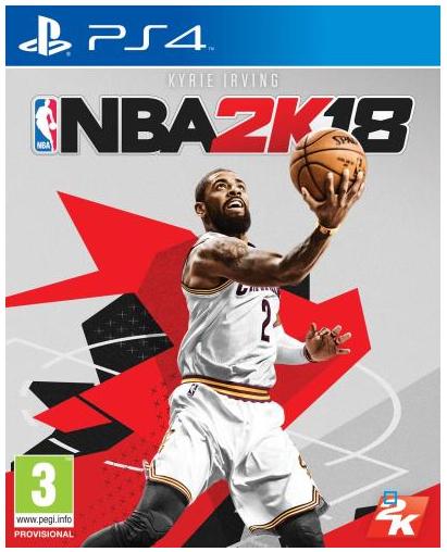Jeu NBA 2K18 sur PS4 ou Xbox One