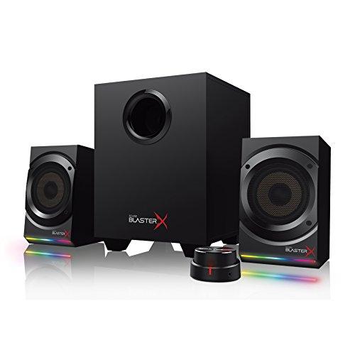 Kit d'enceintes 2.1 RGB Creative SoundBlasterX Kratos S5 - 60W