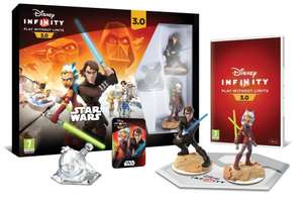 Disney Infinity Star Wars Starter Pack sur PS4