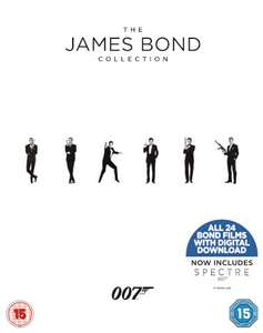 coffret blu ray the james bond collection 1 24. Black Bedroom Furniture Sets. Home Design Ideas