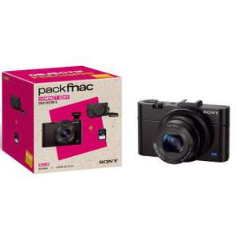 [Adhérents] Pack appareil photo Sony RX100 II + Housse + Carte SD 16 Go (+74.98€ sur la carte adhérent)