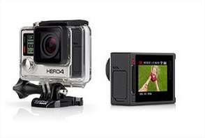 Caméra GoPro Hero 4 Silver + 80€ en carte cadeau
