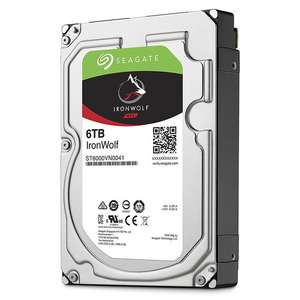 """Disque dur interne 3.5"""" Seagate IronWolf - 6 To"""