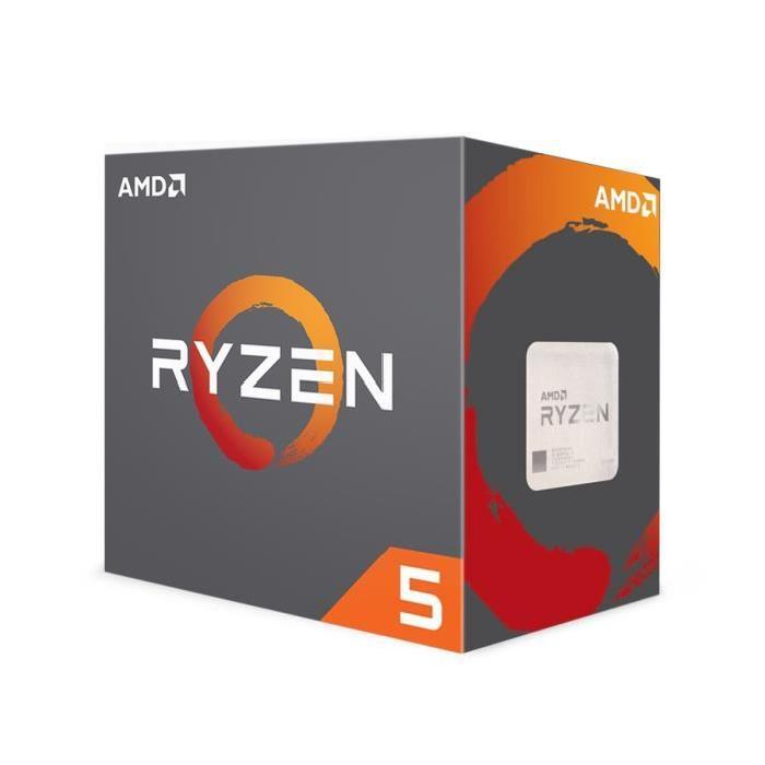 """Processeur AMD Ryzen 5 1600 (3.5 Ghz) - Socket AM4 + """"Champions Pack"""" pour Quake"""
