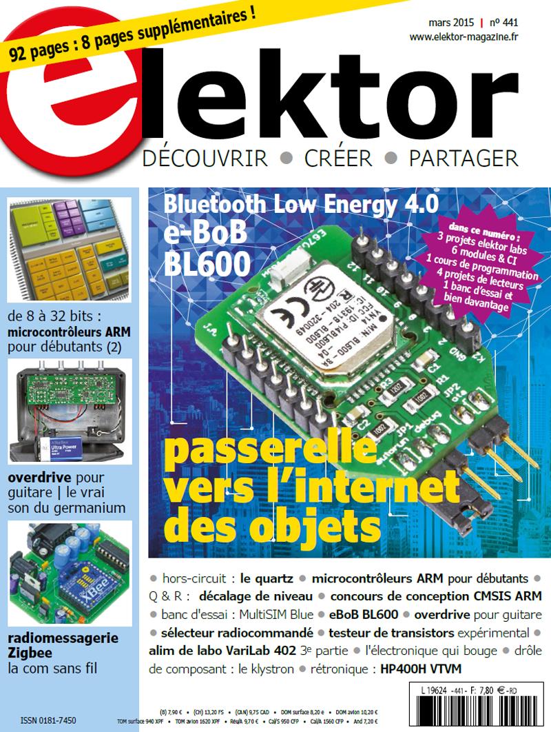 Abonnement d'un an au magazine Elektor en version numérique (PDF)