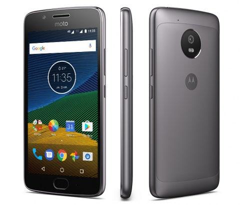 "Smartphone 5"" Motorola Moto G5 - SnapDragon 430, 2 Go de RAM, 16 Go, gris"