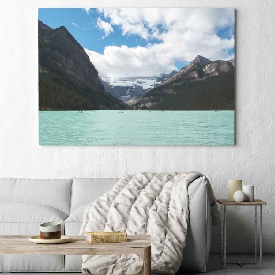 Sélection de toiles photos XXL en promotion - Ex : Toile photo 120 x 80cm à 22€