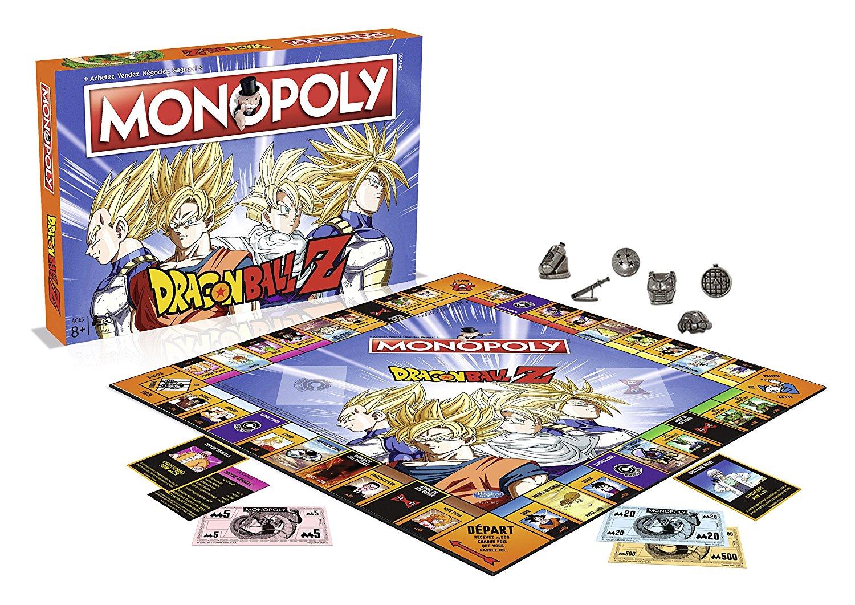 Monopoly Dragon Ball Z (version française)