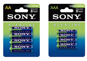 Pack de 60 piles alcalines format AA / AAA Sony