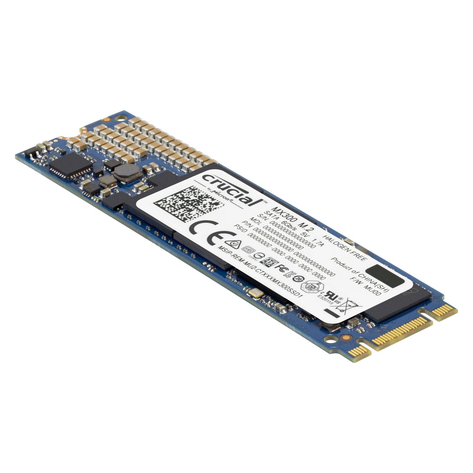 Jusqu'à 15% de réduction sur les SSD Crucial MX300 - Ex : 525 Go M.2 Type 2280SS