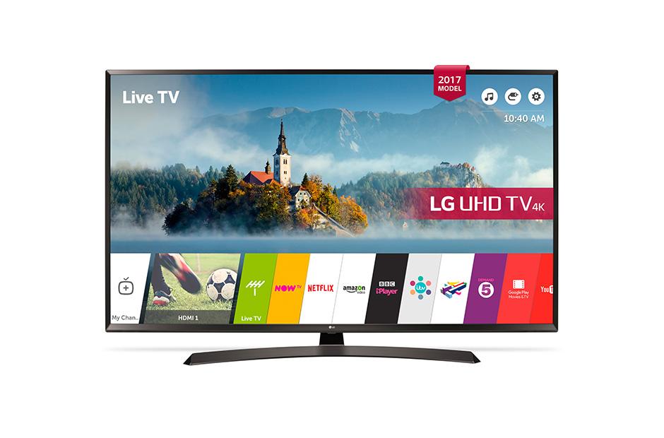 """TV LED 55"""" LG 55UJ635V - UHD 4K, Smart TV, HDR"""