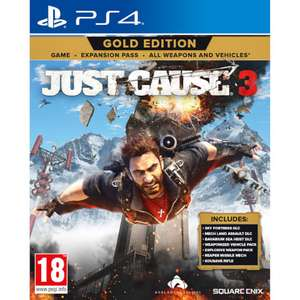 Just Cause 3 Gold Edition sur PS4 ou Xbox One