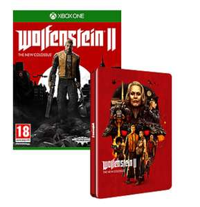 Wolfenstein II: The New Colossus + Steelbook sur PS4 et Xbox One