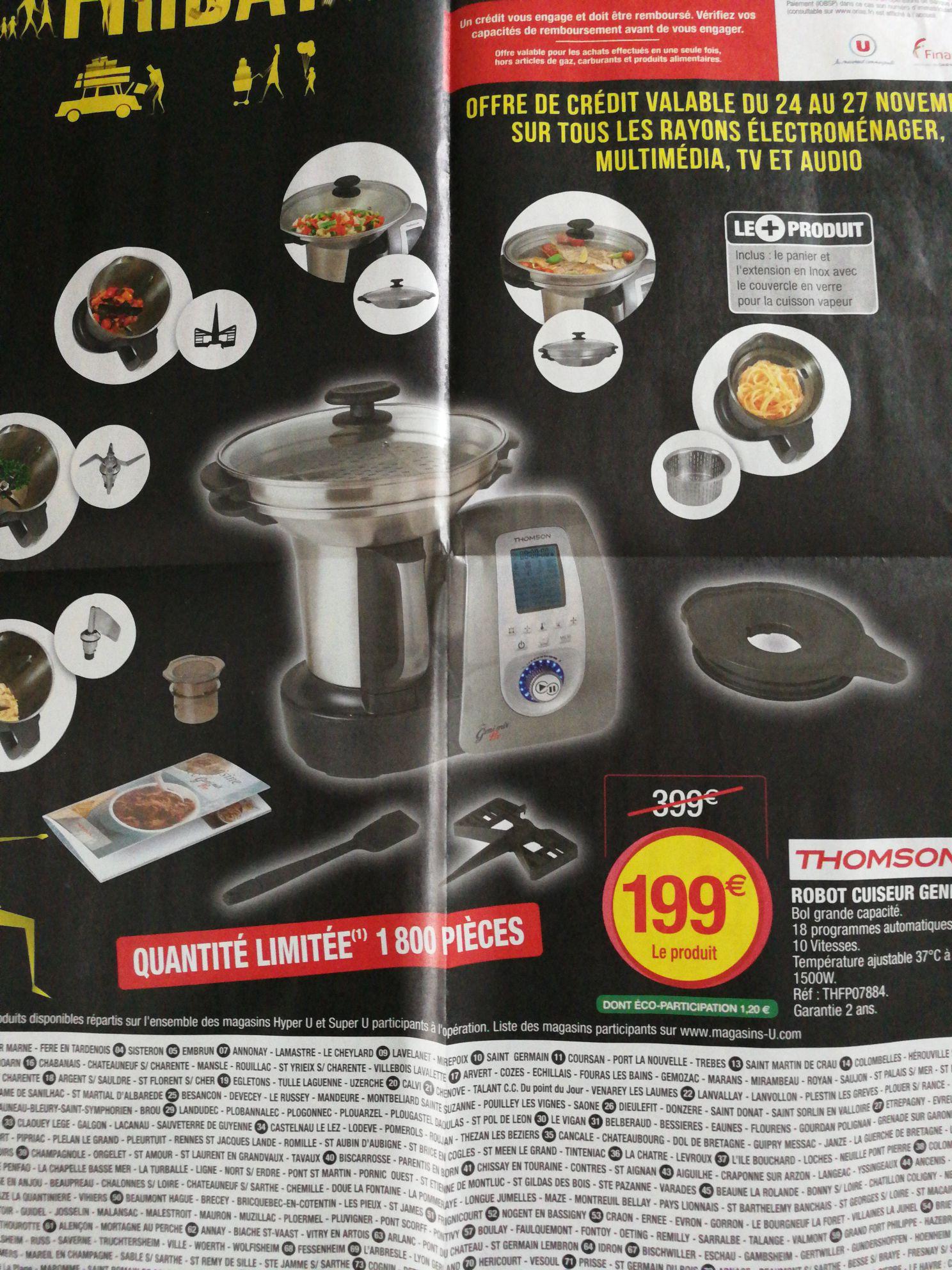 Robot cuiseur Thomson Genimix pro