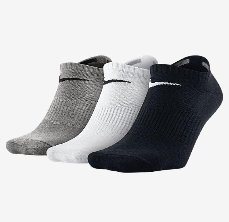 Lot de 3 paires de chaussettes Nike Loweight No-Show - Différentes tailles