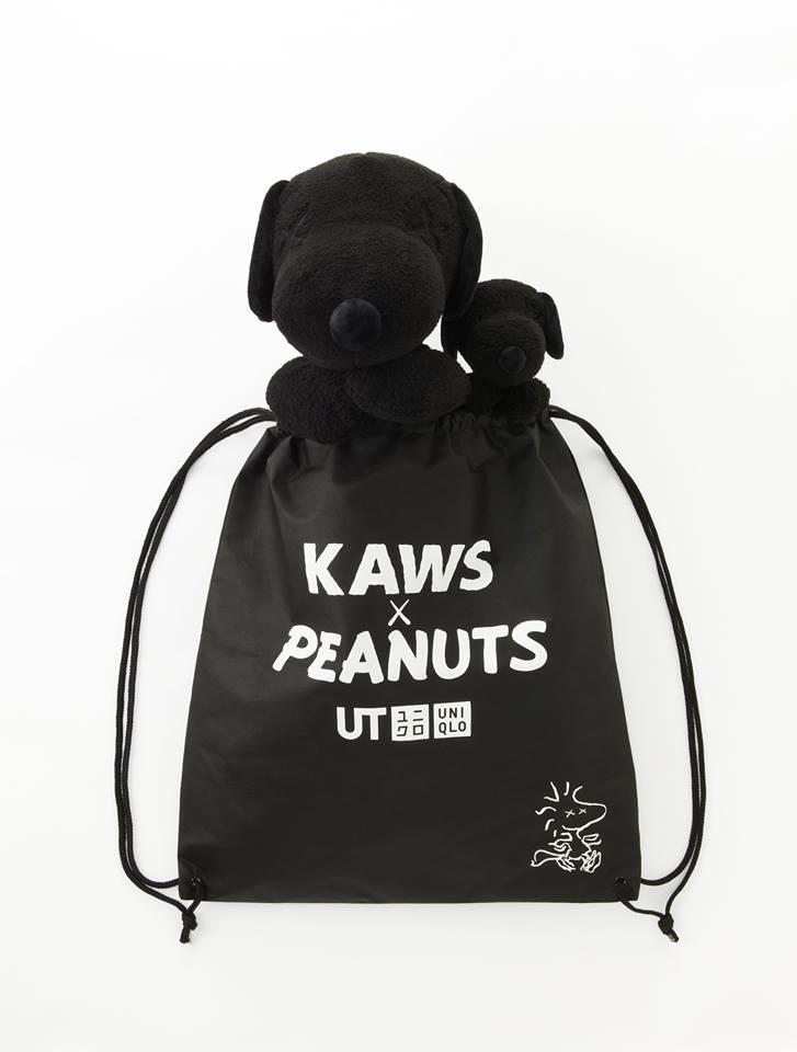 Un sac à dos offert pour tout achat KAWS x Peanuts