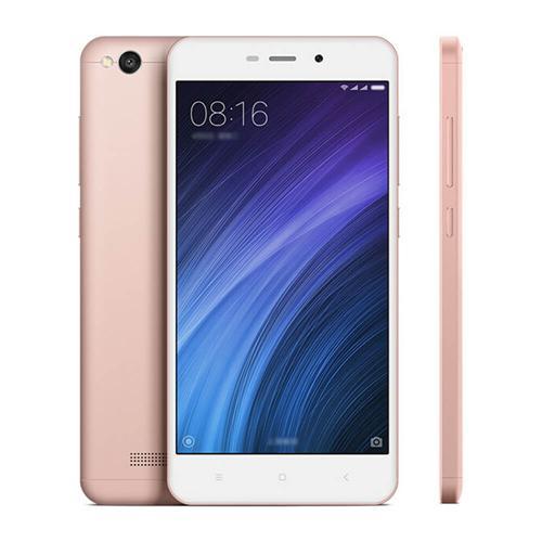 "Smartphone 5"" Xiaomi Redmi 4A Or Rose - HD, SnapDragon 425, RAM 2 Go, ROM 16 Go, 4G (Sans B20)"