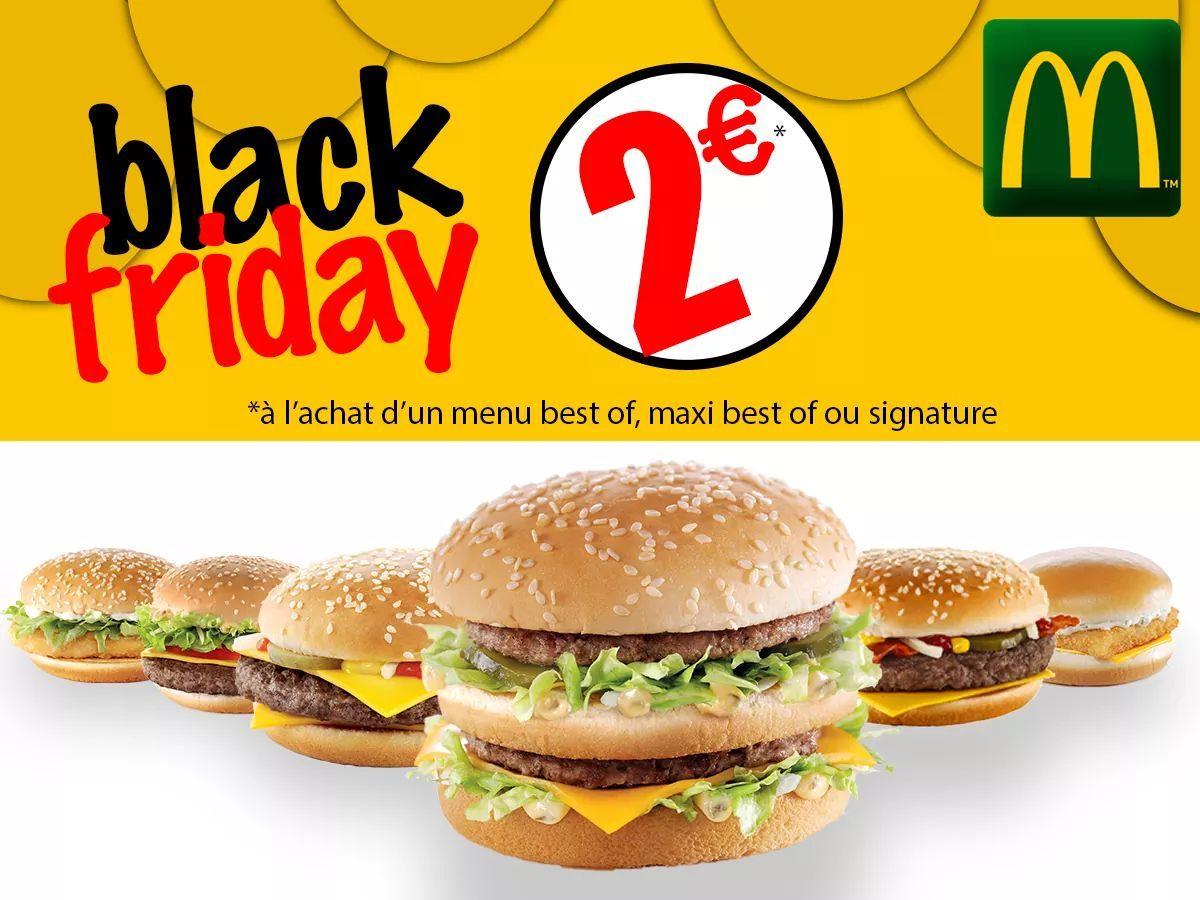 Burger au choix à 2€ pour un menu acheté (Loriol, Crest, Privas - 07 - 26)