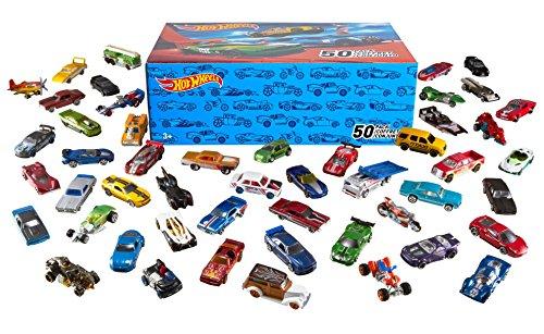 Pack de 50 voitures Hot Wheels