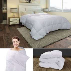 couette plume d 39 oie 200x200 cm anti acariens probache. Black Bedroom Furniture Sets. Home Design Ideas