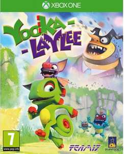 Yooka-Laylee sur Xbox One ou PS4