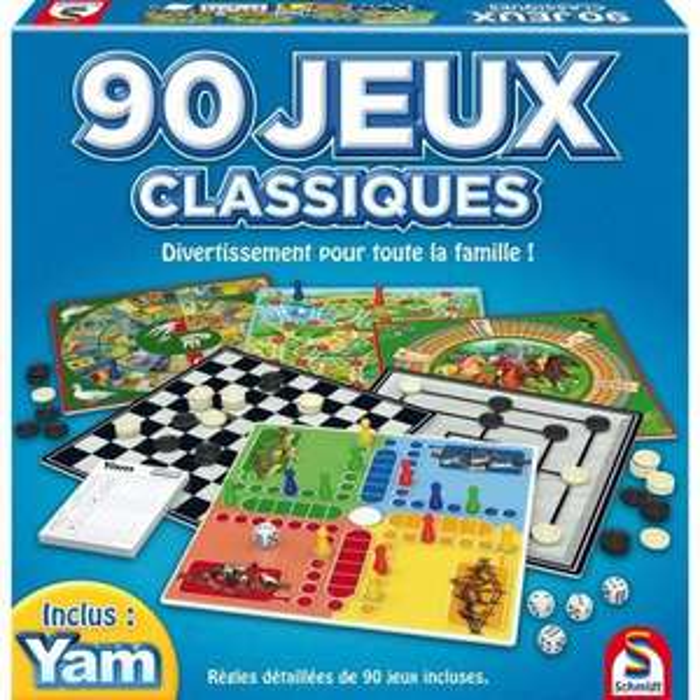 [CDAV] Coffret de 90 Jeux Classiques SCHMIDT