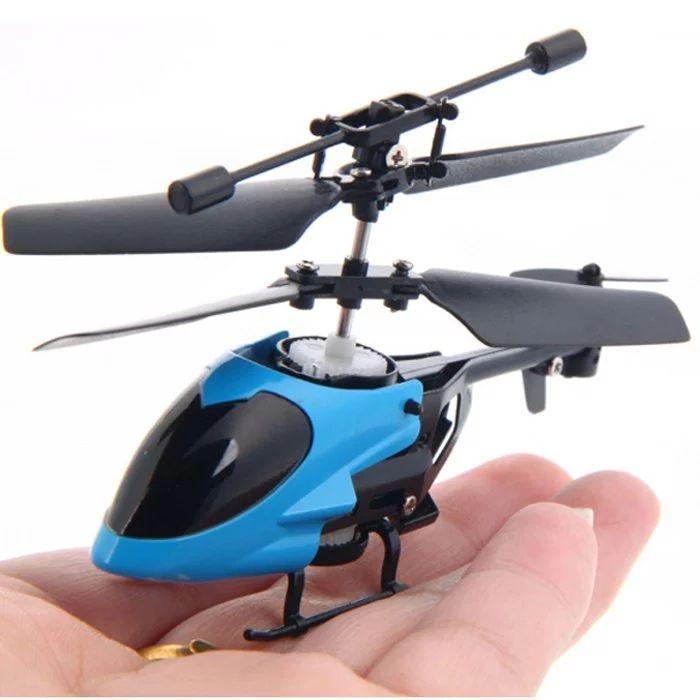 Mini Hélicoptère Radio-commandé QS5013 - Coloris aléatoire