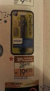 Tondeuse à barbe Philips One Blade + 3 sabots