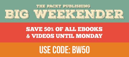 50% de réduction sur tous les eBooks et Videos