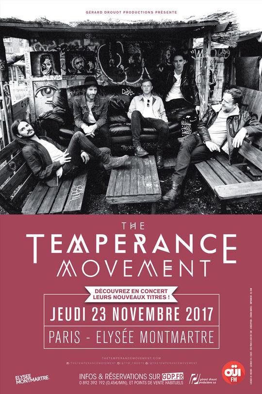 Place pour The Temperance Movement à l'Elysée Montmartre le 23 novembre
